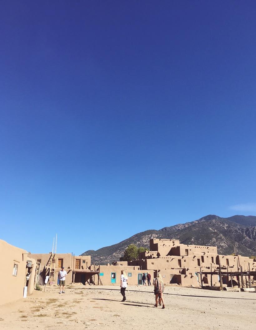 Santa Fe Taos Pueblo Adobe