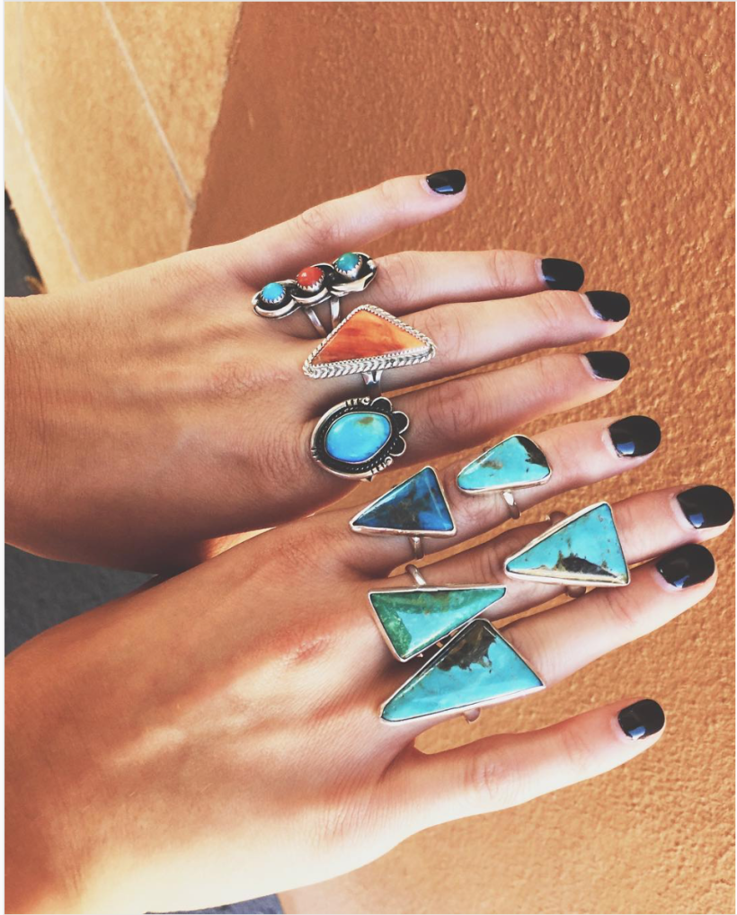 Turquoise Rings Where To Buy Turquoise Sante Fe
