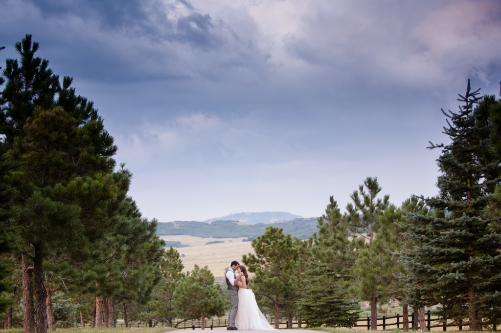colorado mountain wedding spruce mountain ranch