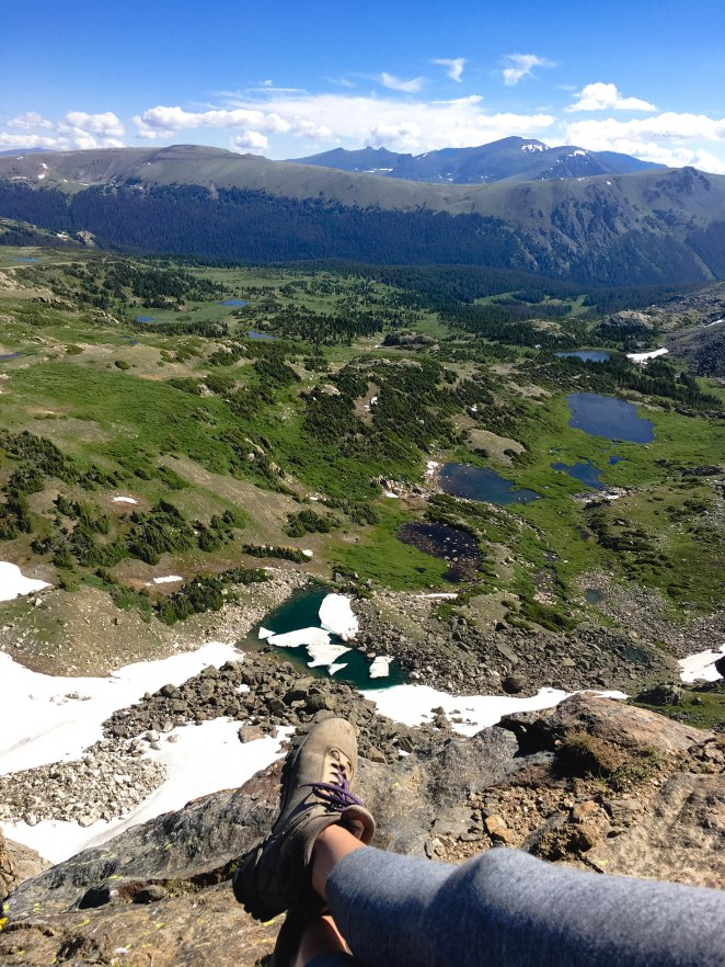 Hiking Mt. Ida in Colorado's Rocky Mountain National Park