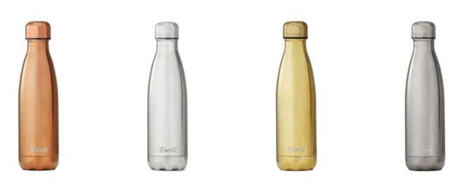 Swell Metallic Water Bottles